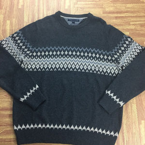 Tommy Hilfiger XXL Wool Blend  Fair Isle Sweater